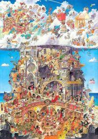 Heaven and Hell (Prades Puzzle Heye 1500 pezzi)