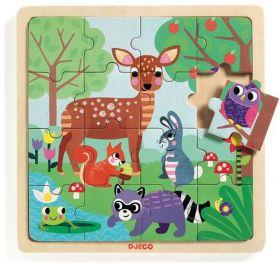 Puzzle in Legno Forest | Puzzle DJECO