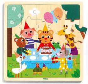 Puzzle in Legno Puzzlo Happy | Puzzle DJECO
