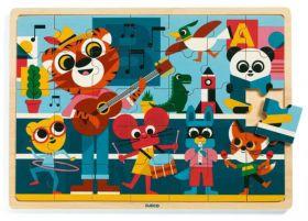 Puzzle in Legno Puzzlo Music | Puzzle DJECO