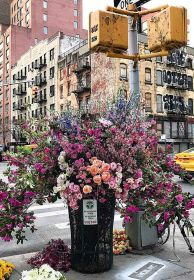 Puzzle 300 Pezzi Ravensburger Moment Flowers in New York | Puzzle Città
