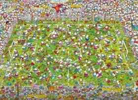 Puzzle Mordillo 1000 pezzi Clementoni The Match