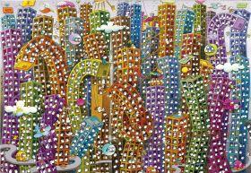 Puzzle Mordillo 2000 pezzi Clementoni The Jungle