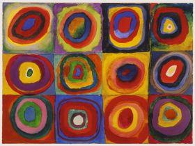 Puzzle Arte 1500 pezzi Ravensburger Kandinsky Studio sul Colore