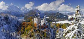 Puzzle Paesaggi 2000 pezzi Ravensburger Castello di Neuschwanstein