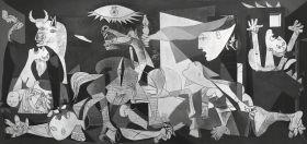 Puzzle Arte 2000 pezzi Ravensburger Picasso Guernica
