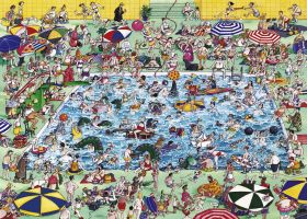 Puzzle 1000 pezzi Heye Cool Down!, Blachon su ARSLUDICA.com