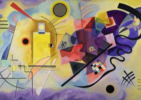 Puzzle 1000 pezzi Kandinsky, Wassily: Yellow, Red, Blue Ravensburger