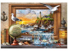 Puzzle 1000 pezzi Marine to Life Castorland su arsludica.com