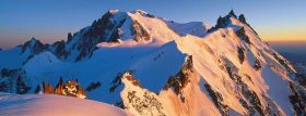 Puzzle Panorama 1000 pezzi Ravensburger Panorama Monte Bianco
