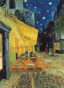 Puzzle Arte 1000 pezzi Clementoni Van Gogh Esterno di Caffè di notte
