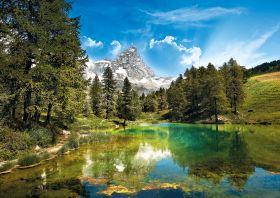 Puzzle Paesaggi 1500 pezzi Clementoni Blue Lake