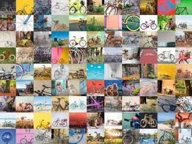 Puzzle 1500 pezzi Composizioni Ravensburger 99 Biciclette e Altro