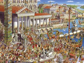 Puzzle 1500 pezzi Heye Ancient Rome, Prades su ARSLUDICA.com