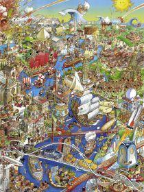 Puzzle 1500 pezzi Heye History River, Prades su ARSLUDICA.com