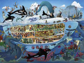 Puzzle 1500 pezzi Heye Submarine Fun, Oesterle su ARSLUDICA.com
