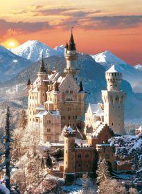 Puzzle Paesaggi 1500 pezzi Clementoni Neuschwanstein