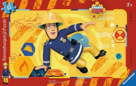 Puzzle 15 Pezzi Ravensburger Sam il Pompiere