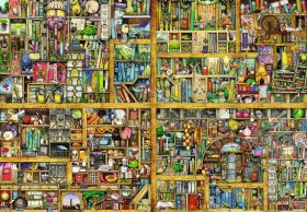 Puzzle Composizioni 18000 pezzi Ravensburger La Libreria Magica