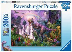 Puzzle 200 Pezzi XXL Ravensburger Paese dei Dinosauri