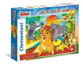 Puzzle 24 pezzi maxi Disney Lion Guard Clementoni su ARSLUDICA.com