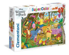 Puzzle 24 pezzi maxi Disney Winnie the Pooh Clementoni su ARSLUDICA.com