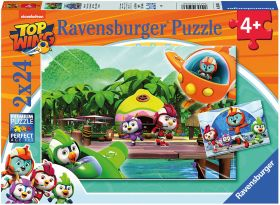 Puzzle 2x24 Pezzi Ravensburger Top Wing