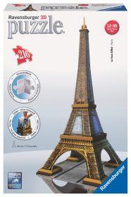 Puzzle 3D Tour Eiffel Gioco (Ravensburger 3D Puzzle)