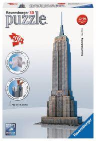 Puzzle 3D Empire State Building Gioco (Ravensburger 3D Puzzle)