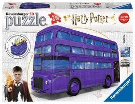 Puzzle 3D Harry Potter London Bus Gioco (Ravensburger 3D Puzzle)