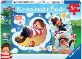 Puzzle 3x49 Pezzi Ravensburger Monchichi