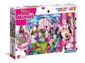 Puzzle 40 pezzi maxi Disney Minnie Clementoni su ARSLUDICA.com