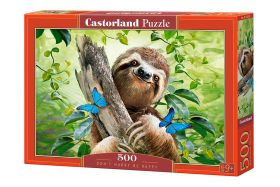 Puzzle 500 pezzi Don't Hurry Be Happy Castorland su arsludica.com