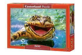 Puzzle 500 pezzi Green & Fun Castorland su arsludica.com
