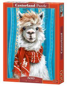 Puzzle 500 pezzi Castorland I am the Llama   Puzzle Animali