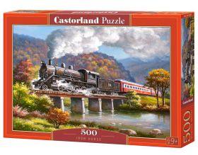 Puzzle 500 pezzi Iron Horse Castorland su arsludica.com