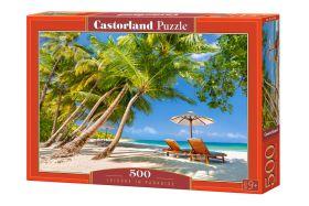 Puzzle 500 pezzi Leisure in Paradise Castorland su arsludica.com