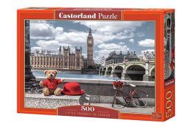 Puzzle 500 pezzi Castorland Little Journey to London   Puzzle Città