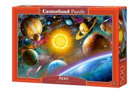 Puzzle 500 pezzi Castorland Outer Space Puzzle Fantasy