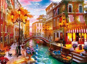 Puzzle Città 500 pezzi Clementoni Sunset over Venice