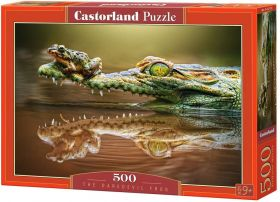 Puzzle 500 pezzi The Daredevil Frog Castorland su arsludica.com