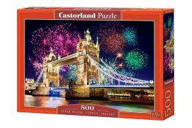 Puzzle 500 pezzi Tower Bridge, England Castorland su arsludica.com