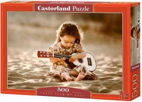 Puzzle 500 pezzi Tunes from My Soul Castorland su arsludica.com