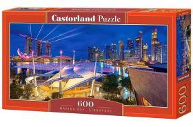 Puzzle 600 pezzi Marina Bay, Singapore Castorland su arsludica.com