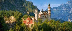 Puzzle 600 pezzi View of the Neuschwanstein Castle, Germany Castorland su arsludica.com