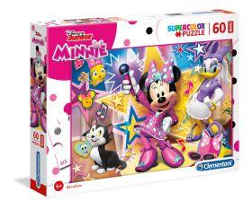 Puzzle 60 pezzi maxi Disney Minnie Clementoni su ARSLUDICA.com