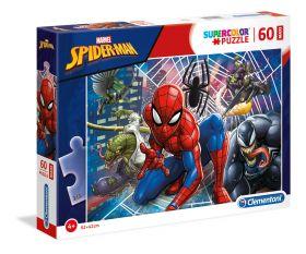 Puzzle 60 pezzi maxi Marvel Spider-Man Clementoni su ARSLUDICA.com