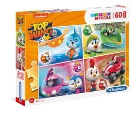 Puzzle 60 pezzi maxi Top Wing Clementoni su ARSLUDICA.com