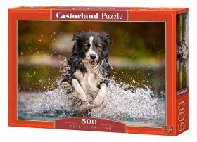Puzzle Animali 500 pezzi Castorland Taste of Freedom