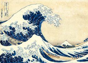 Puzzle Arte 1000 pezzi Clementoni Hokusai La Grande Onda